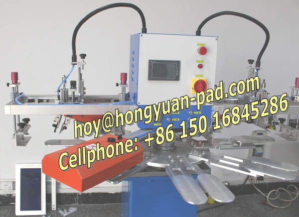 Ankle sock screen printing machine