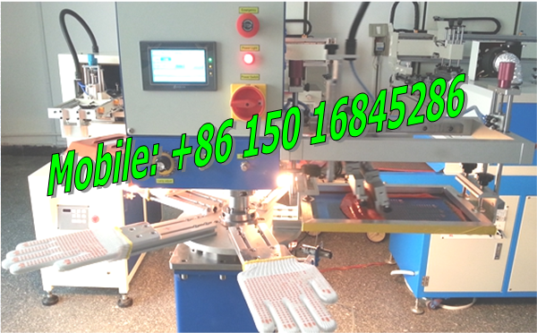 glove dotting printing machine