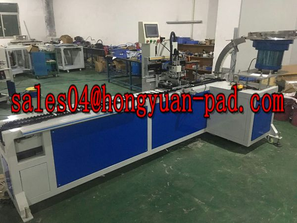 automatic pusher screen printing machine