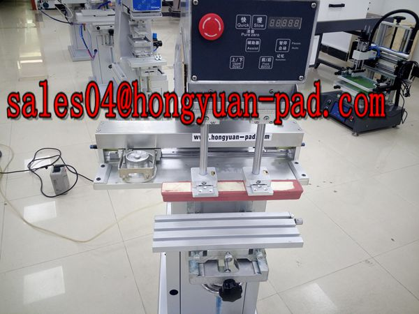 sealed ink cup pad printing machine