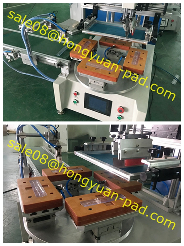 screen printing machine with vacuum table