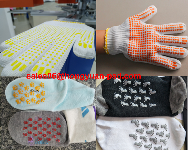 socks screen printing machine , gloves screen printing machine