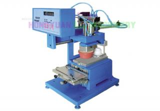 promotion price closed ink cup one color pad printing machine(GW-SM)