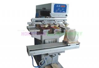 4 Color Pad Printing Machine for helmet (GW-M4S-1)