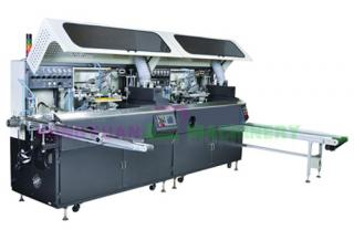automatic 2 color cylinder screen printing machines(GW-2A-UV)