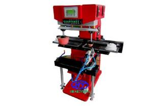 (GW-M2/Y)Big two color pad printing machine for printing heels