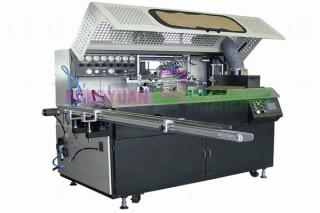 Automatic one color cylinder screen printing machines(GW-1A-UV)