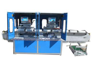 (GW-M4/S-L)Semi-automatic 4 color printing machine for egg box
